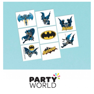 Batman Party Temporary Tattoos (8)