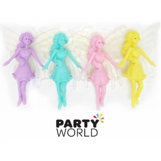 Plastic Fairies Figurines (4)