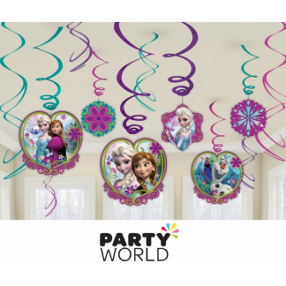Frozen Swirl Decorations Value Pack