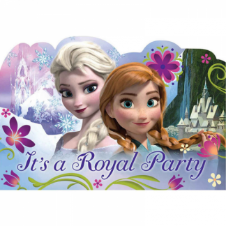 Frozen Party Postcard Invitations (8)