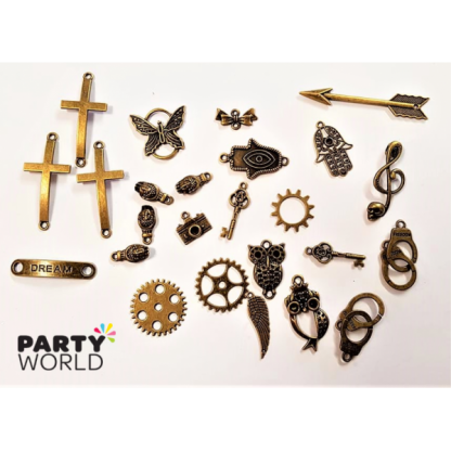 Antique Charms - Steampunk Assortment (25)