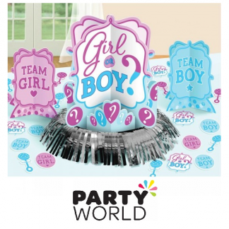 Girl Or Boy Table Decorating Kit