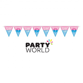 Girl Or Boy Pennant Bunting Banner Kit