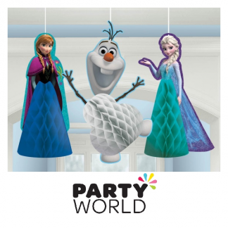 Disney Frozen Honeycomb Decorations