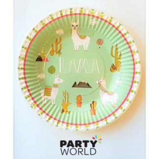 Lama Paper Plates 7in (8)