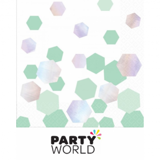 Shimmering Party Luncheon Napkins (16)