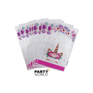 Unicorn Party Loot Bags (10)
