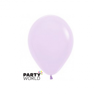 Sempertex 5inch (12cm) Lilac Round Latex Mini Balloons (10)