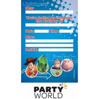 Toy Story Party Invitations (8)