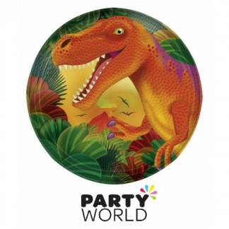 Prehistoric Dinosaur Party 7inch Plates (8)