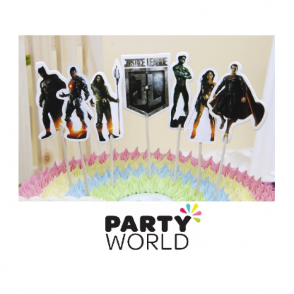Justice League Cake/Cupcake Toppers (8)