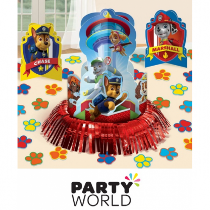 Paw Patrol Party Table Decoration Kit