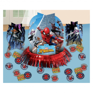 Spiderman Party Table Decoration Kit
