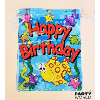 Under The Sea Birthday Party Bunting (8 flags, 3.6 m)