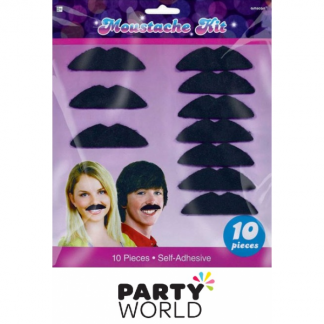 Disco Fever 70's Moustaches (10)