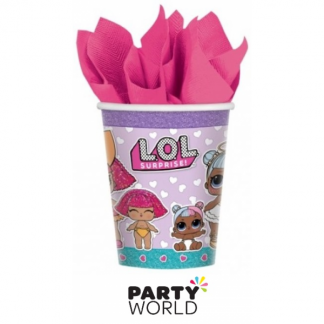 LOL Surprise Dolls Paper Cups (8)