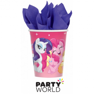 My Little Pony Friendship Adventures 9oz/266ml Cups (8)