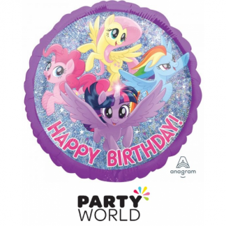 My Little Pony Friendship Holographic Foil Balloon