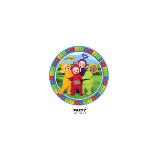Teletubbies Paper Party Plates 7in (8)