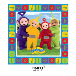 Teletubbies Luncheon Napkins (16)