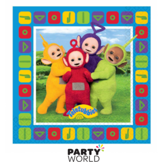 Teletubbies Beverage Napkins (16)