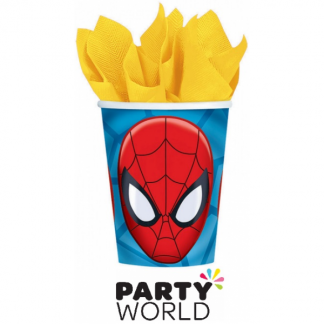 Spiderman Party 9oz Paper Cups (8)