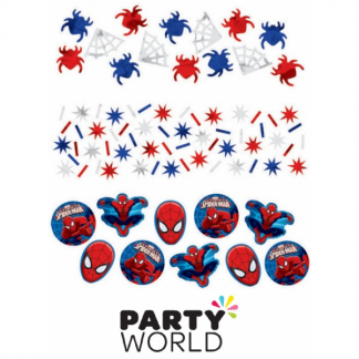 Ultimate Spiderman Party Table Scatters