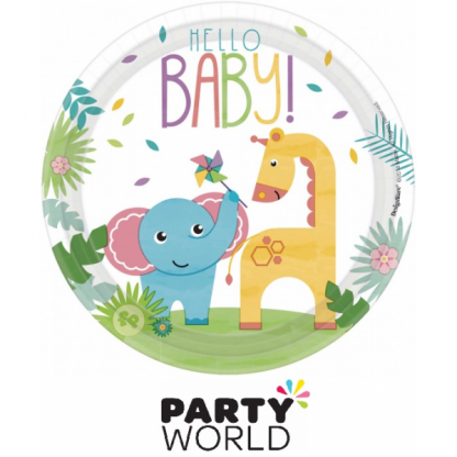 Fisher Price Hello Baby Small Paper Plates (8)