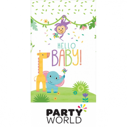 Fisher Price Hello Baby Plastic Tablecover