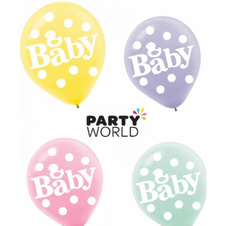 Baby Shower Latex Balloons (15)