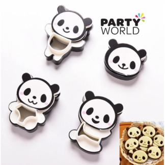 Panda Cookie Cutter Moulds (4)