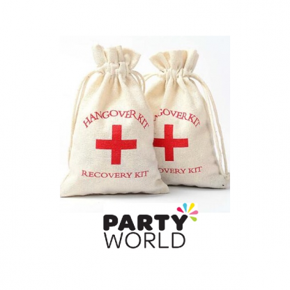 Hangover Party Recovery Kit Cloth Bag