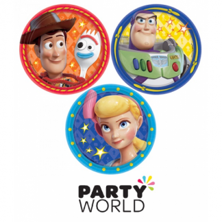 Toy Story Round Paper Plates (8)