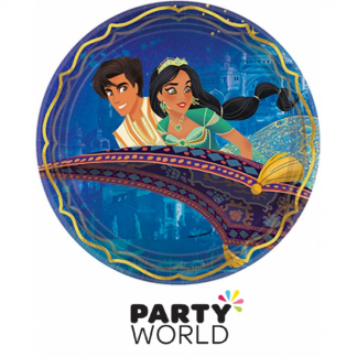 Aladdin Party Round 23cm Paper Plates (8)