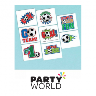 Soccer Party Tattoo Favours (16)