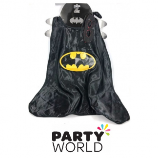 Batman Kids Cape With Eyemask
