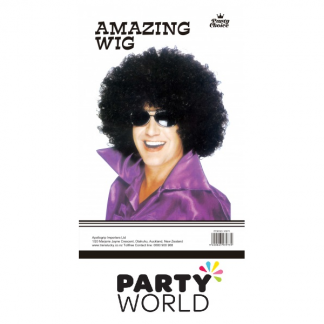 Black Afro Wig For Men