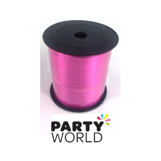 Hot Pink Curling Ribbon (250yds)