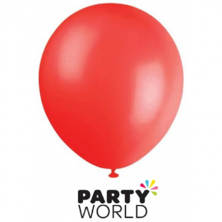 Pearl Red Latex Balloons (20)