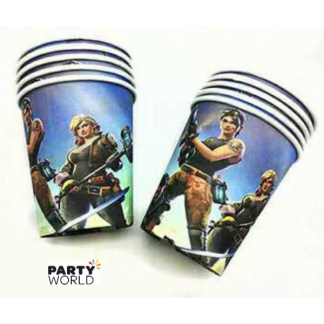 Fortnite Party Paper Cups (10)