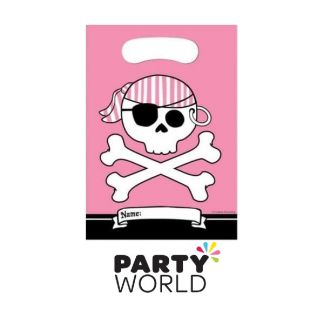 Pirate Parrty! Pink Loot Bags (8)