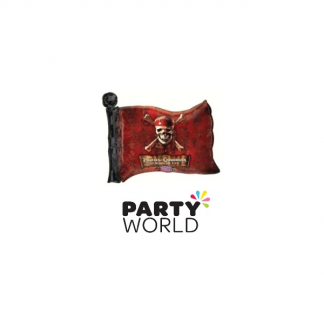 Pirates Of The Caribbean Foil Flag Balloon