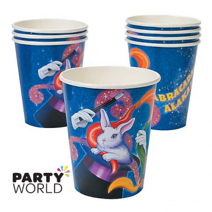 Magic Party Paper Cups (8)
