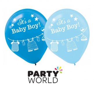 Its A Boy Baby Shower Balloons (15)
