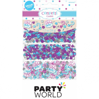 Girl Or Boy Confetti Value Pack