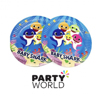 "Baby Shark Party 7"" Paper Plates (8)"