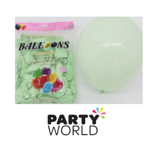 Green 10inch (25cm) Latex Balloons (100)