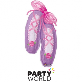 Ballet Dancer Shoes Large Foil Balloon