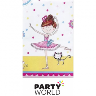 Ballet Dancer Plastic Tablecover