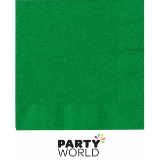 Emerald Green Paper Luncheon Napkins (20)